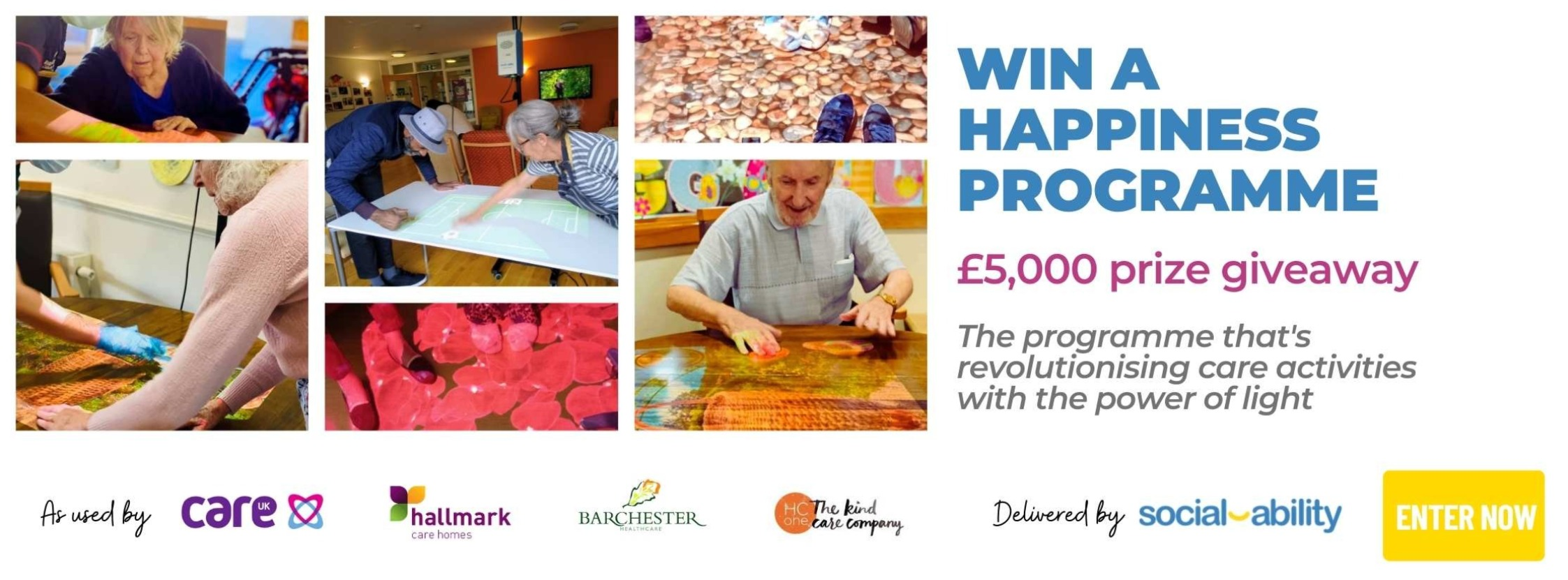 Own A Care Home Happiness Prize Draw